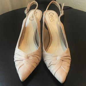 CIRCUS Nude Pointed Heels